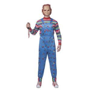 ハロウィン チャッキー コスプレ コスチューム 大人用 衣装 ホラー 映画 キャラクター チャイルド・プレイ チャッキーの種 仮装 グッズ acomes