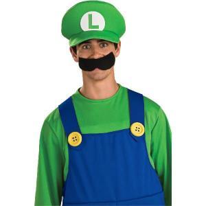 スーパーマリオ グッズ ルイージ 帽子  コスプレ 大人用ハロウィン (帽子のみ) テレビゲーム|acomes