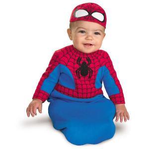 スパイダーマン 衣装 おくるみ ベビー コスチューム 赤ちゃん 着ぐるみ ユニバ コスプレ usj|acomes