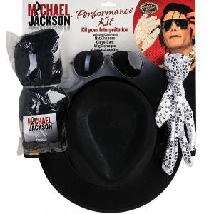 マイケルジャクソン コスプレ なりきりセット ウィッグ サングラス 帽子 手袋|acomes