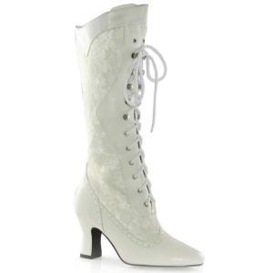 靴 レディース メリーポピンズ 白 アンクルブーツ コスプレ ブーツ レベッカブーツ 大人用ハロウィ...