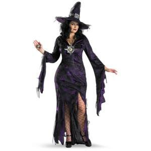 ハロウィン 衣装 コスプレ 魔女 魔法使い 大きいサイズ コスチュームセット|acomes