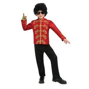 マイケルジャクソン 衣装コスプレ 子供 衣装 男の子 人気 マイケルジャクソン ミリタリージャケット|acomes
