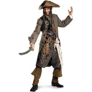 パイレーツオブカリビアン 衣装 ジャック・スパロウ コスチューム ディズニー コスプレ 生命の泉 映画 海賊 仮装 服|acomes