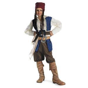 パイレーツ・オブ・カリビアン 海賊衣装 生命の泉 ジャック・スパロウの衣装のお買い得なセットです。ベ...