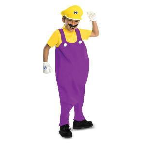 コスプレ 子供 衣装 男の子 人気 プレゼント スーパーマリオブラザーズ ワリオ グッズ テレビゲーム|acomes