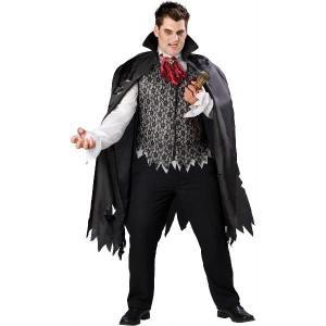 プレゼント 吸血鬼 ドラキュラ 衣装 コスチューム恐怖 バンパイア 大人用 大きいサイズ|acomes