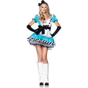 ディズニー ハロウィン 仮装 アリス 不思議の国 衣装 コスプレ アリスのコスチューム 大人用|acomes