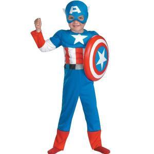 コスプレ 子供 衣装 男の子 人気 キャプテンアメリカ コスチューム マッスル アベンジャーズ キャラクター ハロウィン|acomes