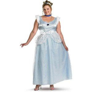 ハロウィン シンデレラ コスプレ ディズニー プリンセス 衣装 デラックス 大人用 大きいサイズ|acomes