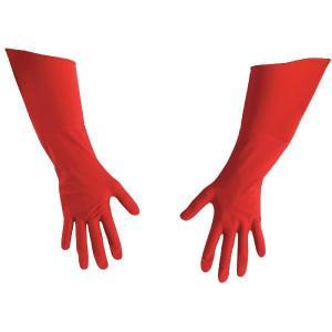 コスプレ キャプテンアメリカ ザ・ファースト アベンジャー デラックス グローブ 赤の長手袋 大人用 アベンジャーズ キャラクター|acomes