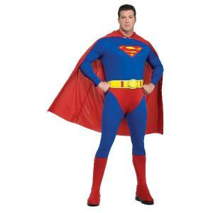 スーパーマン コスチューム 衣装 大人用コスチューム 大きいサイズ|acomes