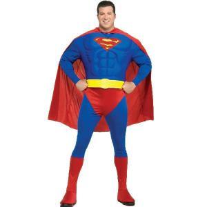 スーパーマン コスチューム 衣装 大人用 マッスル コスチューム 大きいサイズ|acomes