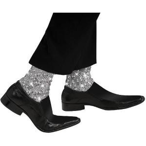 マイケルジャクソン 衣装 ムーンウォーク スパンコール ソックス 子供 キッズ シルクドソレイユ|acomes