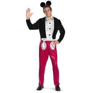 ミッキーマウス コスチューム 大人 メンズ ディズニー キャラクター コスプレ 衣装|acomes