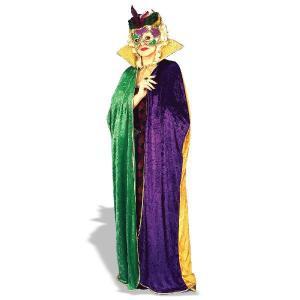 衣装 ハロウィーンマルディグラのケープ 大人用 コスチューム|acomes
