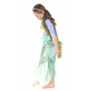 ハロウィン リトルマーメイド 衣装 ディズニー コスプレ プリンセス アリエル 子供用 コスチューム|acomes
