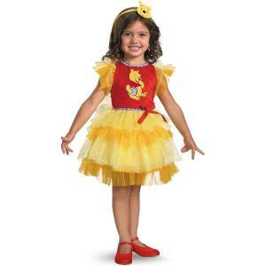 ディズニー くまのプーさん プーさん ハロウィン 衣装 子供 ハロウィン 衣装 『 ドレス子供用 タ...