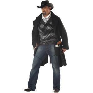 衣装 ウエスタン ガンファイター カウボーイ 大人用 大きいサイズ コスプレ コスチューム|acomes