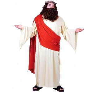 ハロウィン 舞台衣装 イエス・キリスト ジーザス 大人用コスチューム 大きいサイズ|acomes
