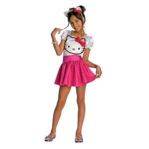 キティー ちゃん グッズ衣装 ハロー チュチュ 子供用コスチュームスカート ペチコート ワンピース ボリューム イエロー ミニ パニエ|acomes