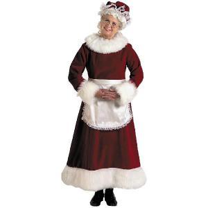 ハロウィン サンタクロース 衣装 レディース ミセスクロースのドレス 大きいサイズ 大人用コスチューム クリスマス|acomes