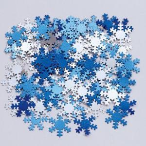 クリスマス デコレーション 飾り雪の結晶コンフェティ(紙ふぶき) acomes