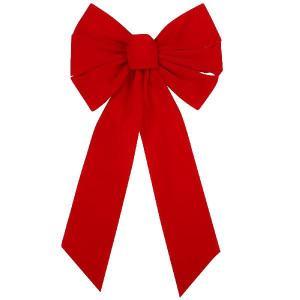 クリスマス デコレーション 飾り特大クリスマスリボン,赤 acomes