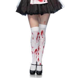 ゾンビ 衣装 仮装 血の付いたゾンビハイソックス 大人用World War Z|acomes