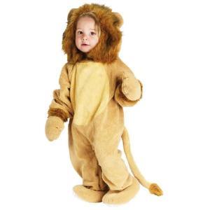 着ぐるみ きぐるみ キャラクター アニマル 子供 ハロウィン コスプレ ライオン|acomes