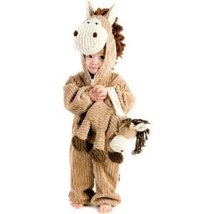 コスプレ 子供 衣装 幼児 人気 動物 着ぐるみ 馬 コスチューム 仮装 干支 午 ウマ 赤ちゃん コーデュロイ 服 acomes