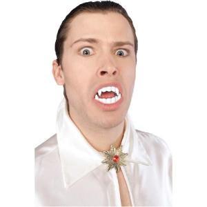 吸血鬼 ドラキュラ 牙 仮装 グッズ 歯 付け歯 キバ バンパイアの牙 大人用|acomes