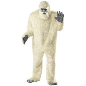 着ぐるみキャラクター きぐるみ 衣装 コスプレ ホラー 雪男 大人用コスチューム パジャマ モンスター エナジー ハンター|acomes
