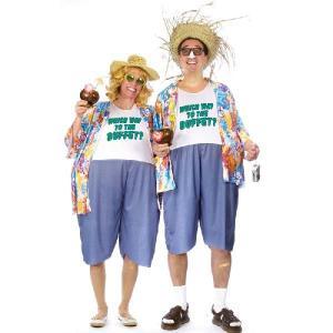 在庫処分市 おもしろ コスチューム ハロウィン 仮装 コスプレ ペア カップル用 品の無い旅行者 あすつく|acomes