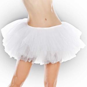 チュチュ スカート コスプレ 光るホワイトチュチュ 大人用スカート ペチコート ワンピース ボリューム イエロー ミニ パニエ acomes