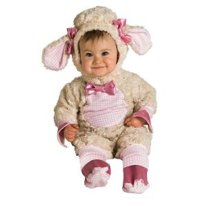 2015年 干支 羊 コスチューム ベビー 赤ちゃん 衣装 ピンク ひつじ 着ぐるみ あすつく|acomes
