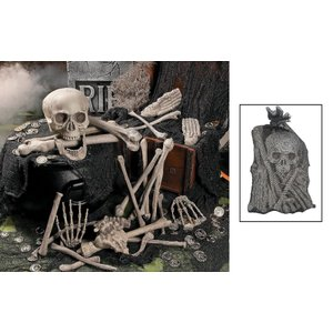 装飾 飾り デコレーション 肝試し グッズホラー・恐怖系 ガイコツ/骸骨・スカル 人骨セット 肝試しやの用 acomes