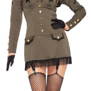 ハロウィン アーミー ミリタリー コスチューム コスプレ 女性 軍服 セクシー 衣装|acomes|03