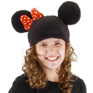 ディズニー 仮装 子供 コスチューム 人気 ミニーマウス ミニ― 帽子 ニット帽 ハロウィン コスプレ|acomes