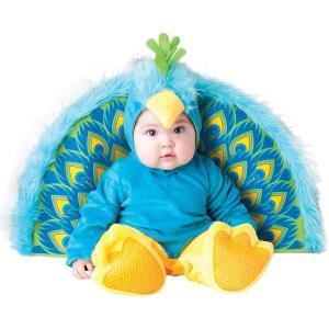 ベビー服 着ぐるみ コスプレ 赤ちゃん 孔雀のベビー用 幼児用 コスチューム スウィート・ベイビー・コレクション|acomes
