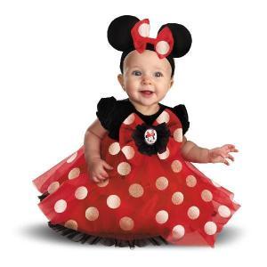 ミニーマウス コスチューム ベビー 衣装 ドレス  コスプレ ベビー服 赤ちゃん ハロウィン|acomes