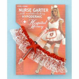 コスプレ グッズ ナース 看護婦 注射器付きガーター|acomes