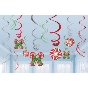 クリスマス パーティー 飾り グッズ キャンディケイン 吊り飾セット デコレーション acomes