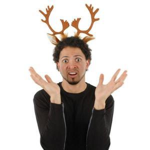 クリスマス パーティー 飾り グッズ トナカイの角 カチューシャ|acomes