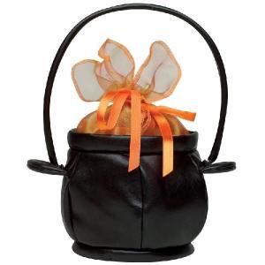 グッズ かばん バッグ 魔女 魔法使い 黒い釜の形をしたハンドバッグ acomes