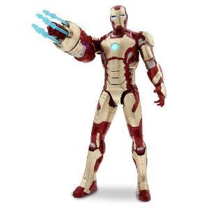アイアンマン フィギュア 人形 グッズ マーク42 33cm アクションフィギュア アベンジャーズ キャラクター|acomes