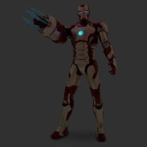 アイアンマン フィギュア 人形 グッズ マーク42 33cm アクションフィギュア アベンジャーズ キャラクター|acomes|02
