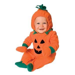 クリスマス パンプキン 衣装 コスプレ かわいいカボチャのコスチューム 赤ちゃん/幼児用コスチューム|acomes