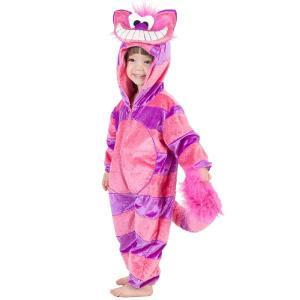 アリス 不思議の国 チシャ猫 ハロウィン コスプレ ネコ 着ぐるみ 子供用コスチューム acomes