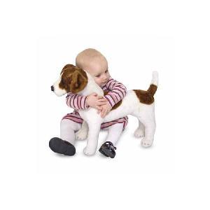 動物 ぬいぐるみ 犬・いぬ Melissa& Doug メリッサアンドダグ ジャック・ラッセル・テリア ぬいぐるみ 知育玩具